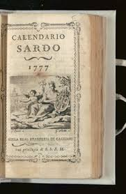 Calendario Antico.Su Capuddanni E L Antico Calendario Sardo